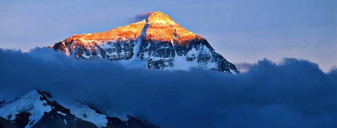 Mount Everest north side