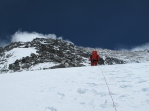 Climbing to 7800m on everest